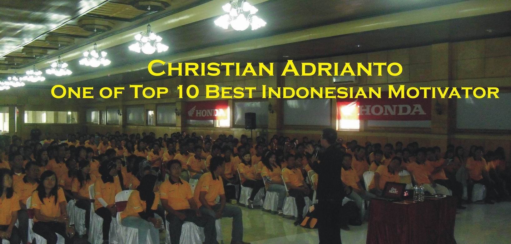 Christian Adrianto – Motivator Indonesia – Training Motivasi